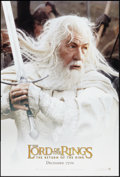 """Movie Posters:Fantasy, The Lord of the Rings: The Return of the King (New Line, 2003). OneSheet (27"""" X 40"""") DS Gandolf Style Advance. Fantasy.. ..."""