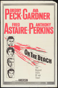 """Movie Posters:Science Fiction, On the Beach (United Artists, 1959). One Sheet (27"""" X 41""""), LobbyCard Set of 8 (11"""" X 14""""), and Pressbook (12.5"""" X 17.5""""). ...(Total: 10 Items)"""