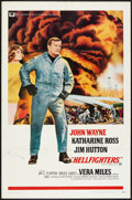 "Movie Posters:Action, Hellfighters (Universal, 1969). One Sheet (27"" X 41""). Action.. ..."