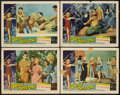 "Movie Posters:Science Fiction, Queen of Outer Space (Allied Artists, 1958). Lobby Cards (4) (11"" X14""). Science Fiction.. ... (Total: 4 Items)"