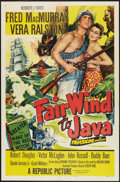 "Movie Posters:Adventure, Fair Wind to Java Lot (Republic, 1953). One Sheets (2) (27"" X 41"")and Promotional Booklet (13"" X 16""). Adventure.. ... (Total: 3Items)"