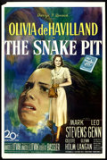 "Movie Posters:Drama, The Snake Pit (20th Century Fox, 1948). One Sheet (27"" X 41""). Drama.. ..."