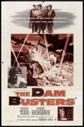 """Movie Posters:War, The Dam Busters (Warner Brothers, 1955). One Sheet (27"""" X 41"""").War.. ..."""