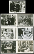 """Movie Posters:Hitchcock, Mr. & Mrs. Smith (RKO, 1941). Photos (7) (8"""" X 10"""").Hitchcock.. ... (Total: 7 Items)"""