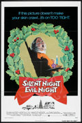 """Movie Posters:Horror, Silent Night, Evil Night (Warner Brothers, 1974). One Sheet (27"""" X 41""""). Horror.. ..."""