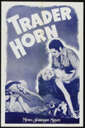 "Movie Posters:Adventure, Trader Horn (MGM, R-1938 and R-1940s). One Sheets (2) (27"" X 41"").Adventure.. ... (Total: 2 Items)"