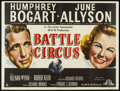 "Movie Posters:War, Battle Circus (MGM, 1953). British Quad (30"" X 40""). War.. ..."