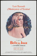"Movie Posters:Foreign, Belle De Jour (Allied Artists, 1967). One Sheet (27"" X 41"").Foreign.. ..."