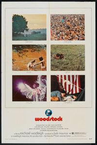"""Woodstock (Warner Brothers, 1970). One Sheet (27"""" X 41""""). Rock and Roll"""