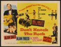 """Movie Posters:Rock and Roll, Don't Knock the Rock (Columbia, 1957). Half Sheet (22"""" X 28"""") StyleA. Rock and Roll.. ..."""