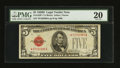 Small Size:Legal Tender Notes, Fr. 1529* $5 1928D Legal Tender Note. PMG Very Fine 20.. ...
