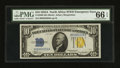 Small Size:World War II Emergency Notes, Fr. 2309 $10 1934A North Africa Silver Certificate. PMG Gem Uncirculated 66 EPQ.. ...