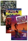 Modern Age (1980-Present):Science Fiction, Alien Worlds/Twisted Tales Group (Pacific Comics/Eclipse, 1980s)Condition: Average NM-.... (Total: 8 Comic Books)