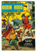 Silver Age (1956-1969):Adventure, Robin Hood Tales #5 Circle 8 Pedigree (Quality, 1956) Condition: VF....