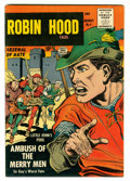 Silver Age (1956-1969):Adventure, Robin Hood Tales #4 Circle 8 pedigree (Quality, 1956) Condition: VF-....