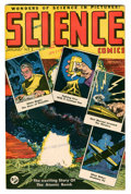 Golden Age (1938-1955):Science Fiction, Science Comics #1 (Ace, 1946) Condition: VF-....