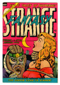 Golden Age (1938-1955):Horror, Strange Fantasy #13 (Farrell, 1954) Condition: FN/VF....