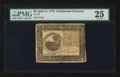 Colonial Notes:Continental Congress Issues, Continental Currency April 11, 1778 $6 PMG Very Fine 25.. ...