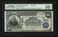 National Bank Notes:Wyoming, Laramie, WY - $10 1902 Plain Back Fr. 632 The Albany NB Ch. #(W)3615. ...