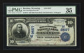 National Bank Notes:Wyoming, Rawlins, WY - $10 1902 Date Back Fr. 618 The Stockgrowers NB Ch. #(W)9557. ...