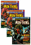 Bronze Age (1970-1979):Horror, Man-Thing Group - Western Penn pedigree (Marvel, 1973-74)Condition: Average NM-.... (Total: 7 Comic Books)