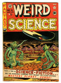 Golden Age (1938-1955):Science Fiction, Weird Science #6 (EC, 1951) Condition: FN/VF....
