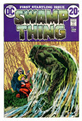 Bronze Age (1970-1979):Horror, Swamp Thing #1 (DC, 1972) Condition: NM-....