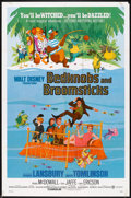 "Movie Posters:Animated, Bedknobs and Broomsticks Lot (Buena Vista, 1971 & R-1979). OneSheets (4) (27"" X 41""), and Insert (14"" X 36""). Animated.. ...(Total: 5 Items)"