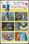 "Movie Posters:Animated, The Sword in the Stone Lot (Buena Vista, 1963). One Sheet (27"" X41"") Style B and Special Promotional Poster (29.5"" X 40""). ...(Total: 2 Items)"