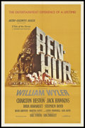 "Movie Posters:Historical Drama, Ben-Hur (MGM, 1959). One Sheet (27"" X 41""). Historical Drama.Academy Award Winner.. ..."