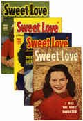 Golden Age (1938-1955):Romance, Sweet Love #2-5 File Copies Group (Harvey, 1949-50) Condition:Average VF.... (Total: 4 Comic Books)