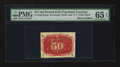 Fractional Currency:Second Issue, Milton 2E50R.5 50¢ Second Issue Experimental PMG Gem Uncirculated 65 EPQ.. ...