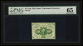 Fractional Currency:First Issue, Fr. 1242 10¢ First Issue PMG Gem Uncirculated 65.. ...