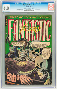 Fantastic Fears #5 (Farrell, 1954) CGC FN 6.0 Cream to off-white pages
