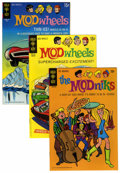 Bronze Age (1970-1979):Cartoon Character, Mod Wheels #1-19/Modniks #1 File Copies Group (Gold Key, 1967-76)Condition: Average VF+.... (Total: 20 Comic Books)