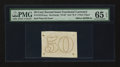 Fractional Currency:Second Issue, Milton 2E50R.4e 50¢ Second Issue Experimental PMG Gem Uncirculated 65 EPQ.. ...