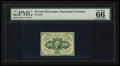 Fractional Currency:First Issue, Fr. 1240 10¢ First Issue. PMG Gem Uncirculated 66.. ...