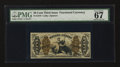 Fractional Currency:Third Issue, Fr. 1370 50¢ Third Issue Justice. PMG Superb Gem Unc 67 EPQ.. ...