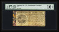 Colonial Notes:Continental Congress Issues, Continental Currency May 10, 1775 $20 PMG Very Good 10 Net.. ...