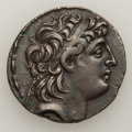 Ancients:Greek, Ancients: SELEUKID KINGDOM. Antiochos VIII Grypos (121-96 BC). ARtetradrachm. ...