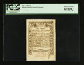 Colonial Notes:Rhode Island, Rhode Island May 1786 6d PCGS Superb Gem New 67PPQ.. ...