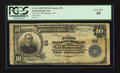 National Bank Notes:Wisconsin, Hudson, WI - $10 1902 Plain Back Fr. 624 The First NB Ch. # 95. ...