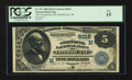 National Bank Notes:Wisconsin, Fond Du Lac, WI - $5 1882 Date Back Fr. 537 The Commercial NB Ch. # (M) 6015. ...
