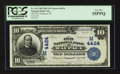 National Bank Notes:Wisconsin, Waupaca, WI - $10 1902 Date Back Fr. 619 Old NB Ch. # (M)4424. ...
