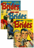 Golden Age (1938-1955):Romance, Teen-Age Brides #1-30 File Copies Group (Harvey, 1953-58)Condition: Average VF.... (Total: 30 Comic Books)