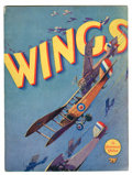 Memorabilia:Movie-Related, Wings Program (Paramount Famous Lasky, 1927)....