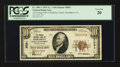 National Bank Notes:Pennsylvania, Smethport, PA - $10 1929 Ty. 1 The Grange NB of McKean County Ch. #8591. ...