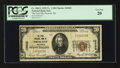 National Bank Notes:Wisconsin, Prescott, WI - $20 1929 Ty. 1 The First NB Ch. # 10522. ...