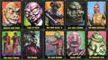 "Non-Sport Cards:Sets, 1964 Bubbles (Topps) ""The Outer Limits"" Complete Set (50). ..."