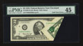 Error Notes:Foldovers, Fr. 1935-D $2 1976 Federal Reserve Note. PMG Choice Extremely Fine45.. ...
